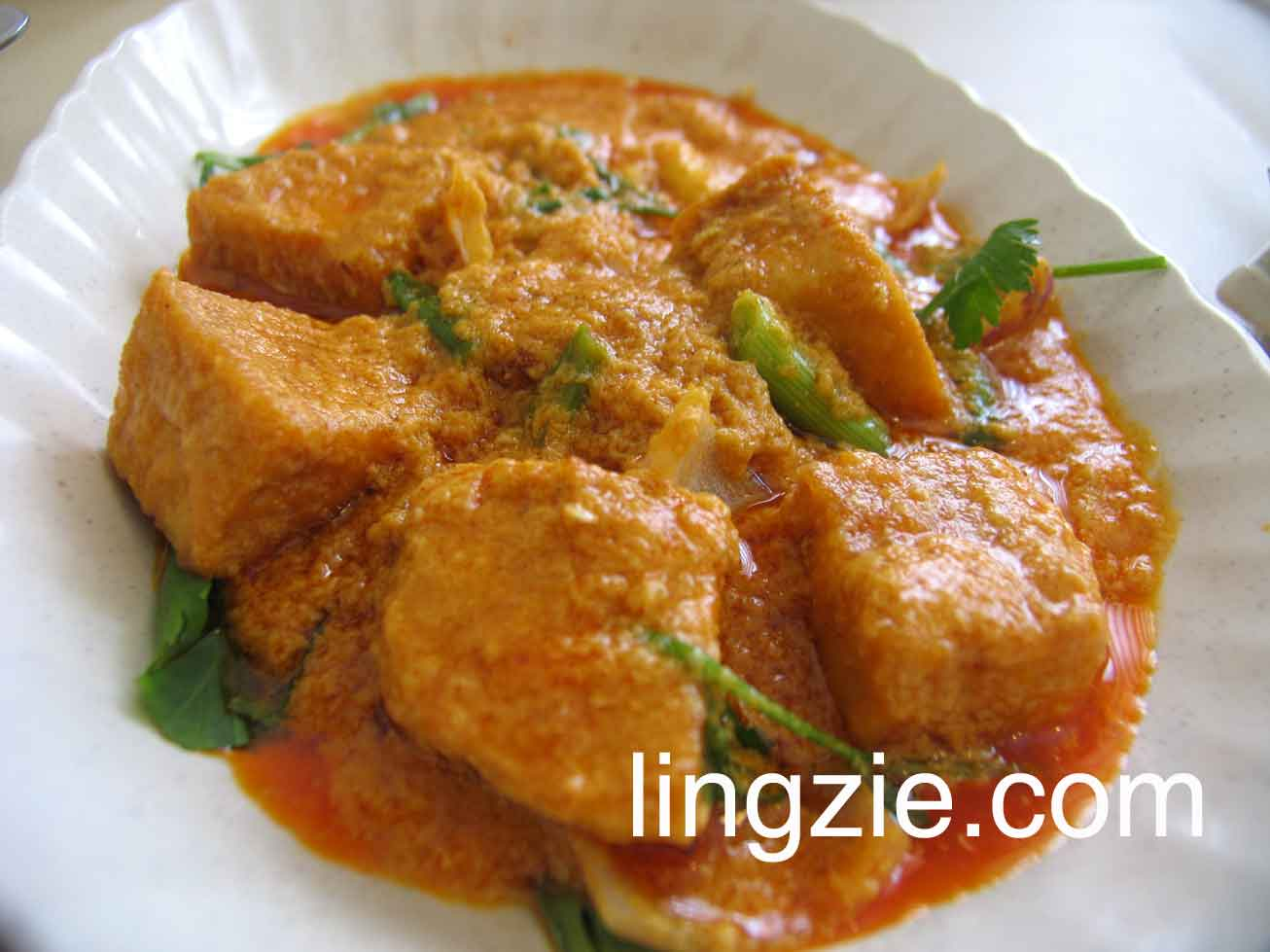 Curry Paste Beancurd