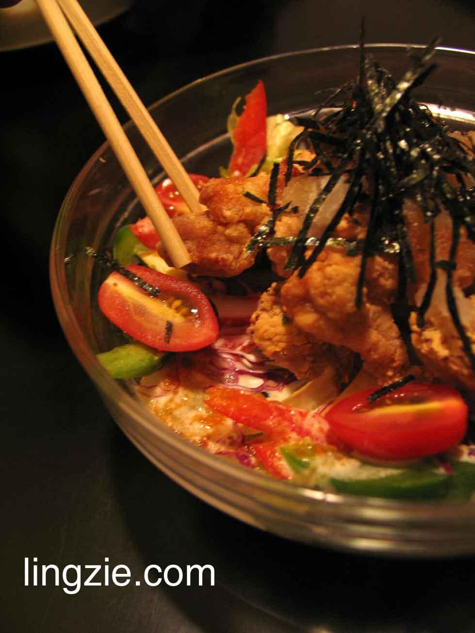 KissA Koyotei - Karaage Salad