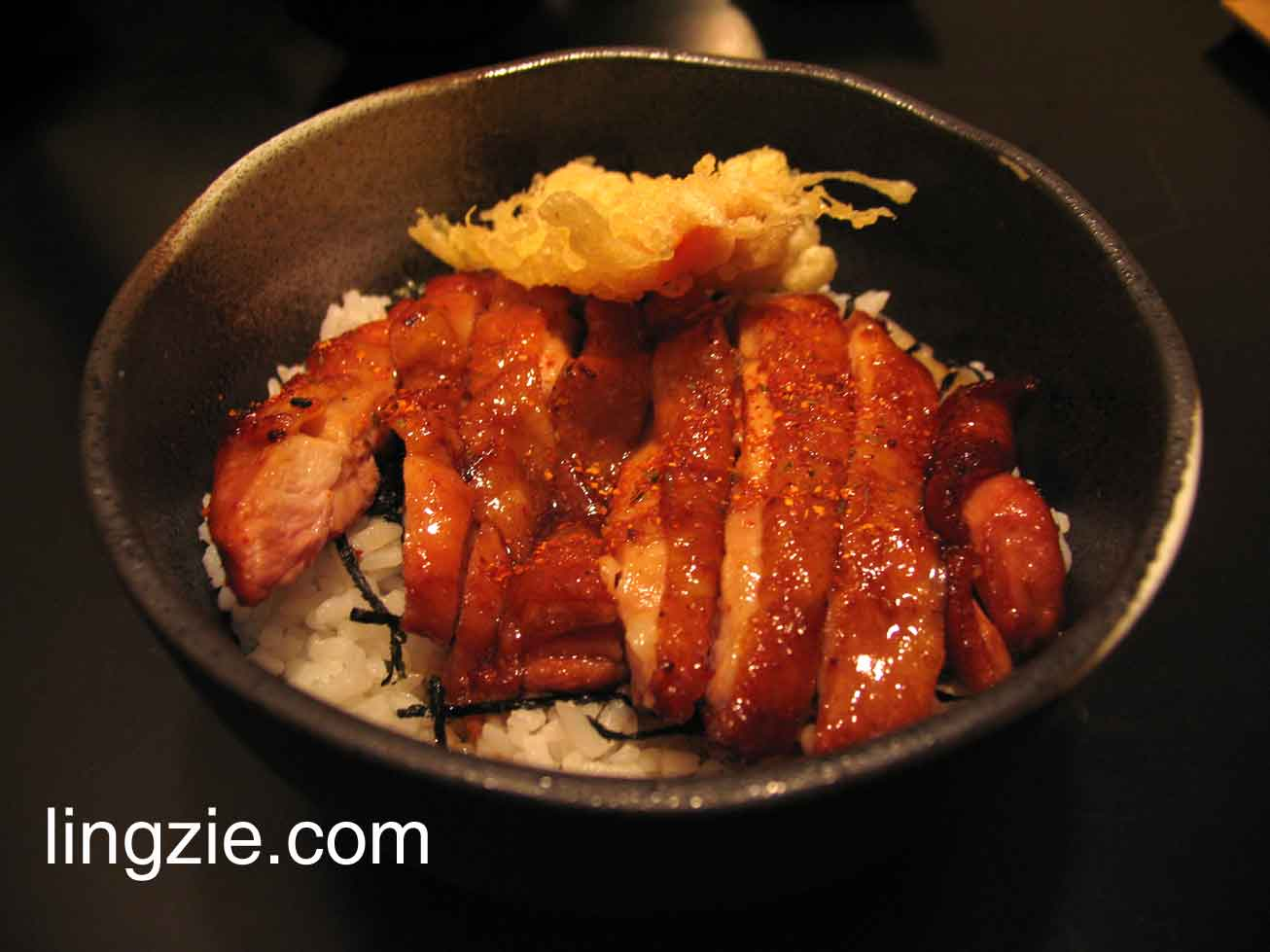 Chicken Teriyaki Don