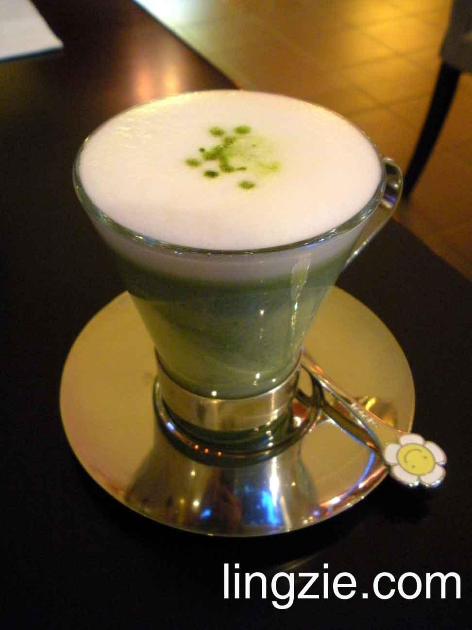 KissA Koyotei Green Tea Latte
