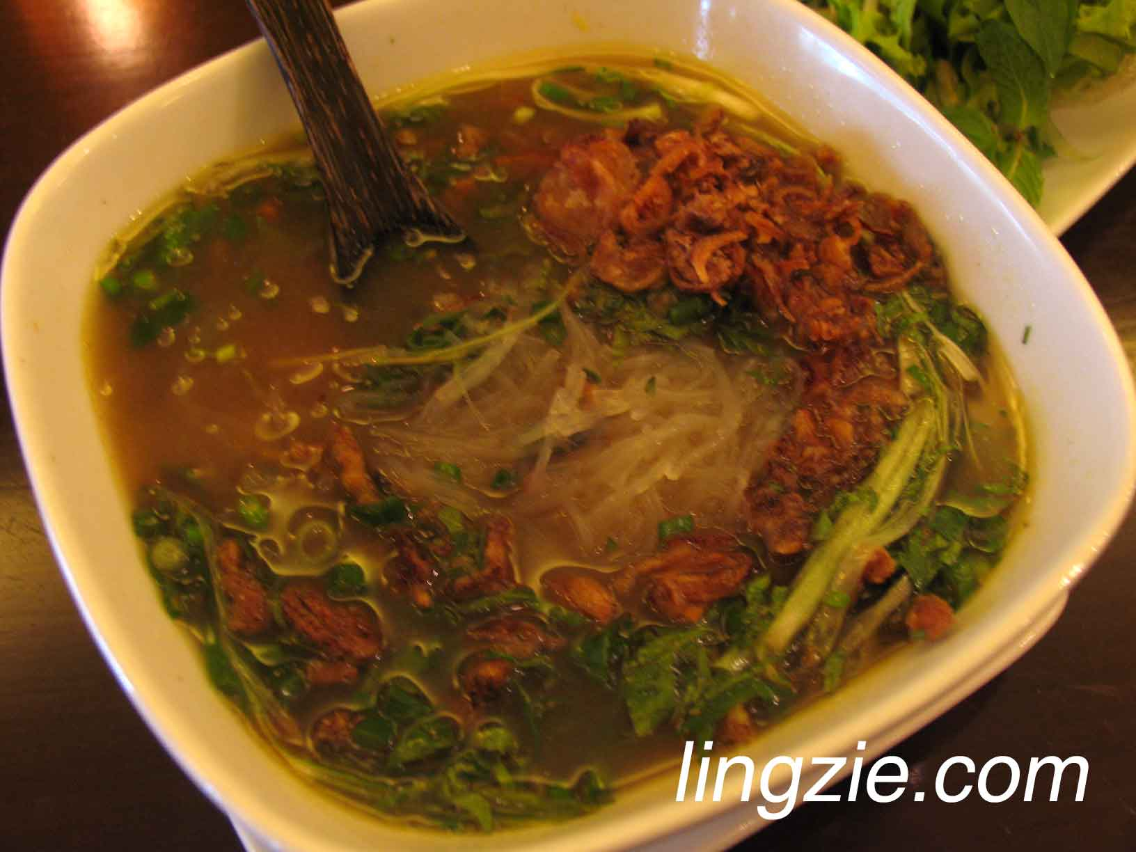 Cruncy Eel Glass Noodle Soup (RM13.80)