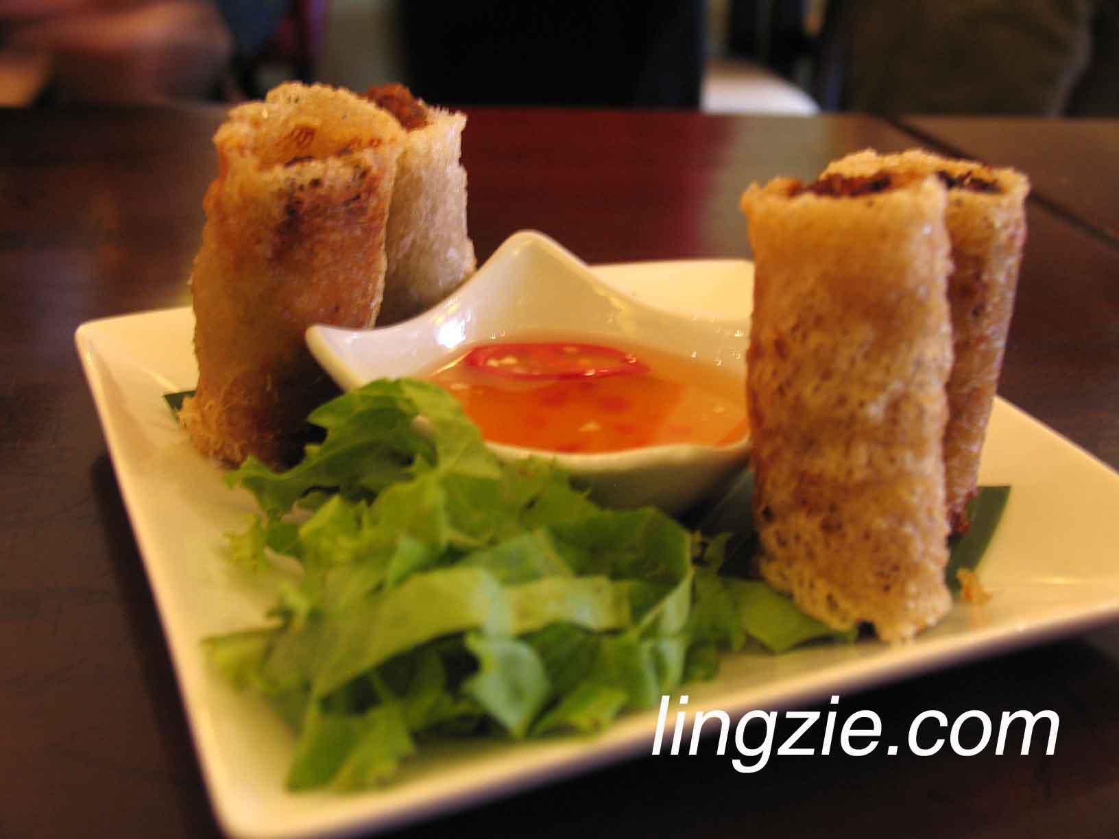 Crispy Gourmet Seafood Roll (RM9.80)