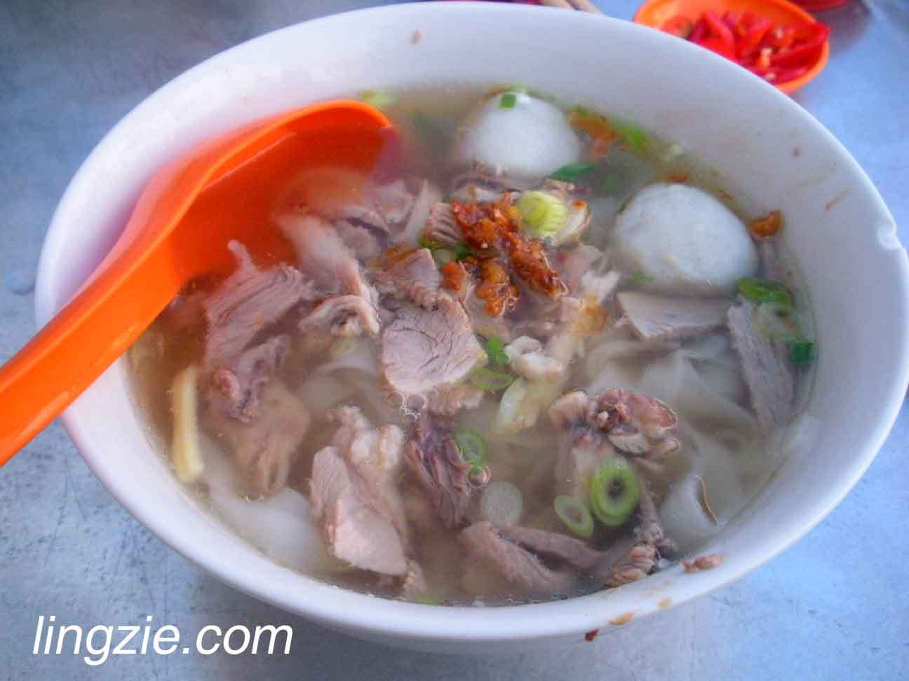 Duck Meat Koay Teow Th'ng
