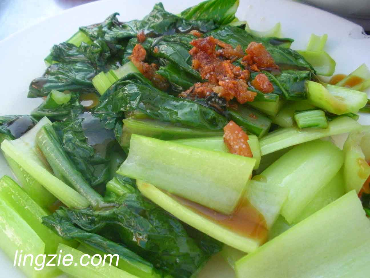 "Vegetables ala ""yao choi"""
