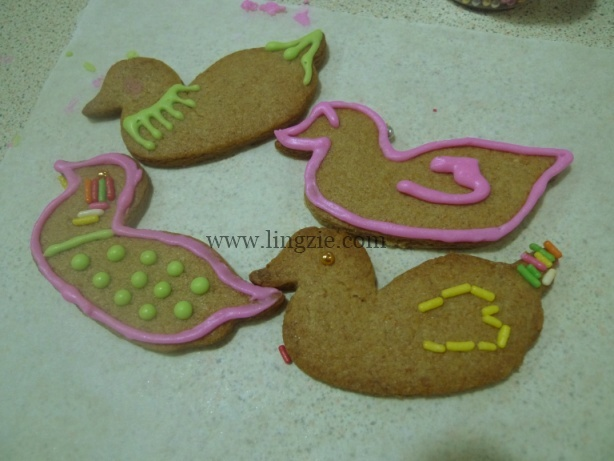 gingerbread ducks!