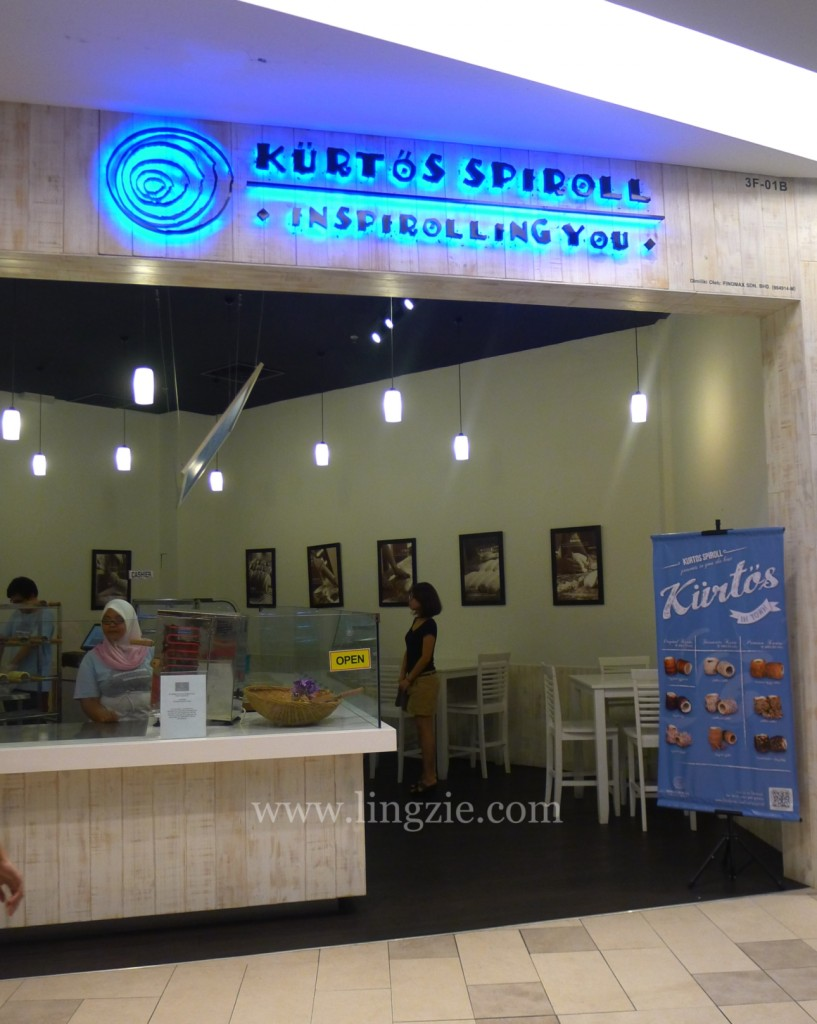 Kurtos Spiroll @ Queensbay Mall