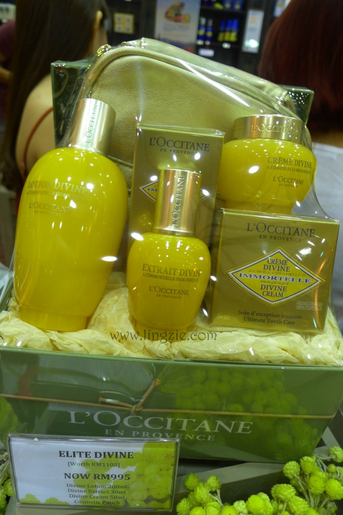 L'OCCITANE's new Immortelle Divine range