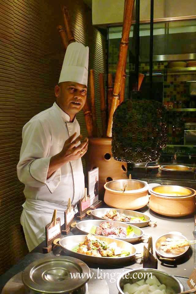 Chef Seth Shantanu, Guest Chef at the Spice Market Cafe
