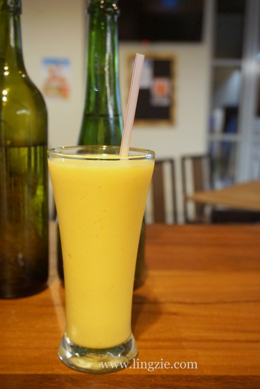 Mango Kefir Smoothie Yin's Sourdough Pizza