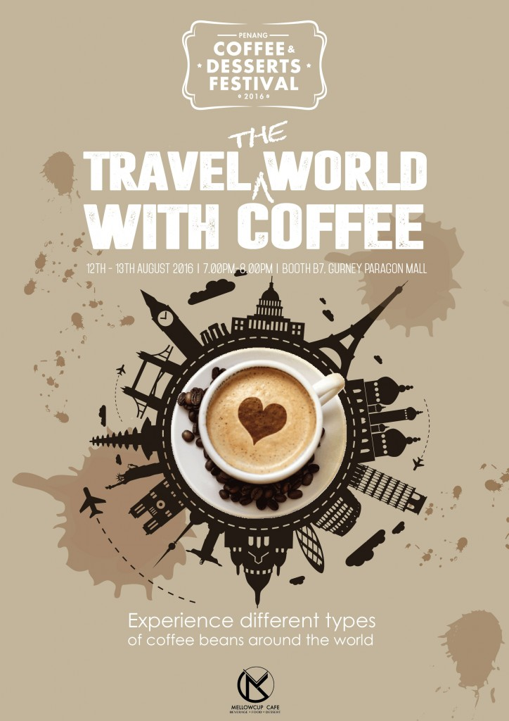 Travel the world with coffee