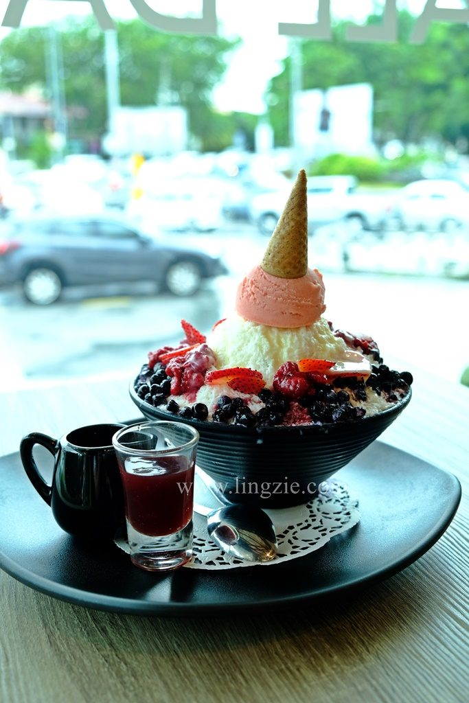 Baguni + Gusttimo, Sunshine Square, Penang Food Blog, Lingzie Food Blog, Flower Gelato, Korean Store
