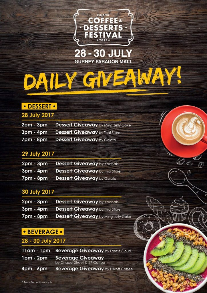 Penang Coffee & Dessert Festival, PCDF 2017, Gurney Paragon Mall, Penang Food Blog, Lingzie Food Blog