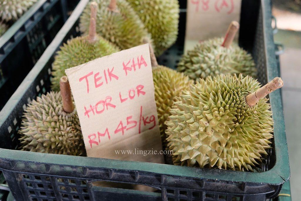 Penang Durian, Balik Pulau Durian, Penang Food Blog, Lingzie Food Blog