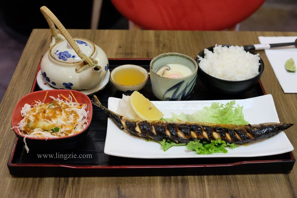 Ginza Japanese Restaurant, Vantage Desiran Tanjung, Lingzie Food Blog, Penang Food Blog
