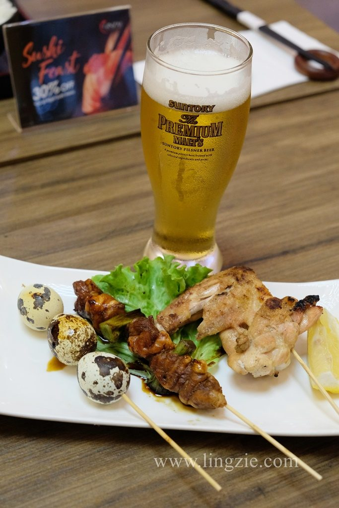 Ginza Japanese Restaurant, Vantage Desiran Tanjung, Lingzie Food Blog, Penang Food Blog