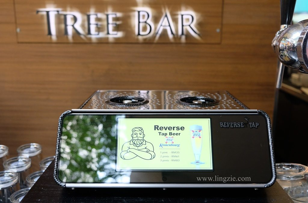 Tree Bar, G Hotel Gurney, Reverse Tap Beer, Penang Food Blog